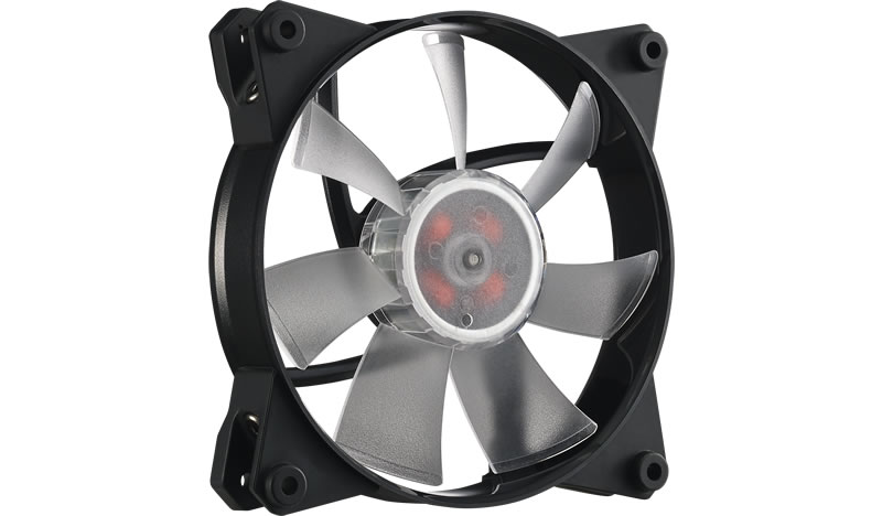 Ventilator Cooler Master MasterFan Pro 120 Air Flow RGB 3 in 1 with RGB LED Controller