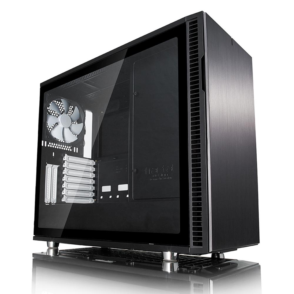 Carcasa PC Fractal Design Define R6 Black Tempered Glass