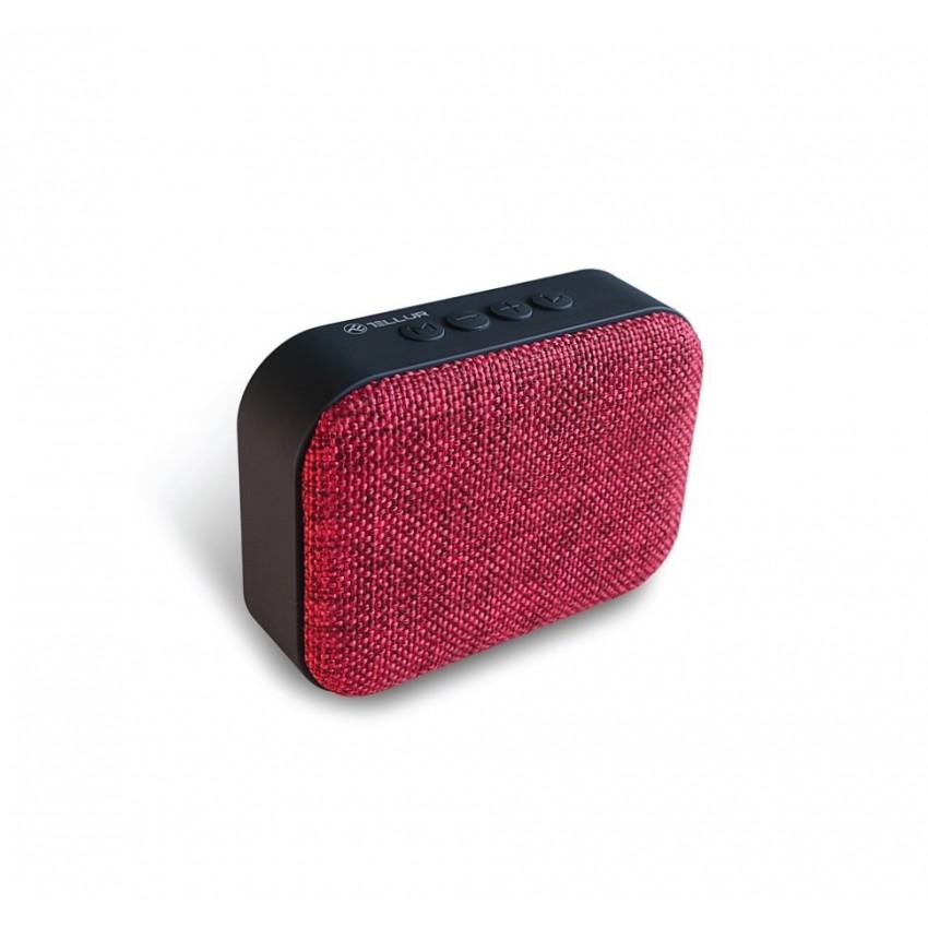 Boxa portabila Bluetooth Tellur Callisto 3W Rosu