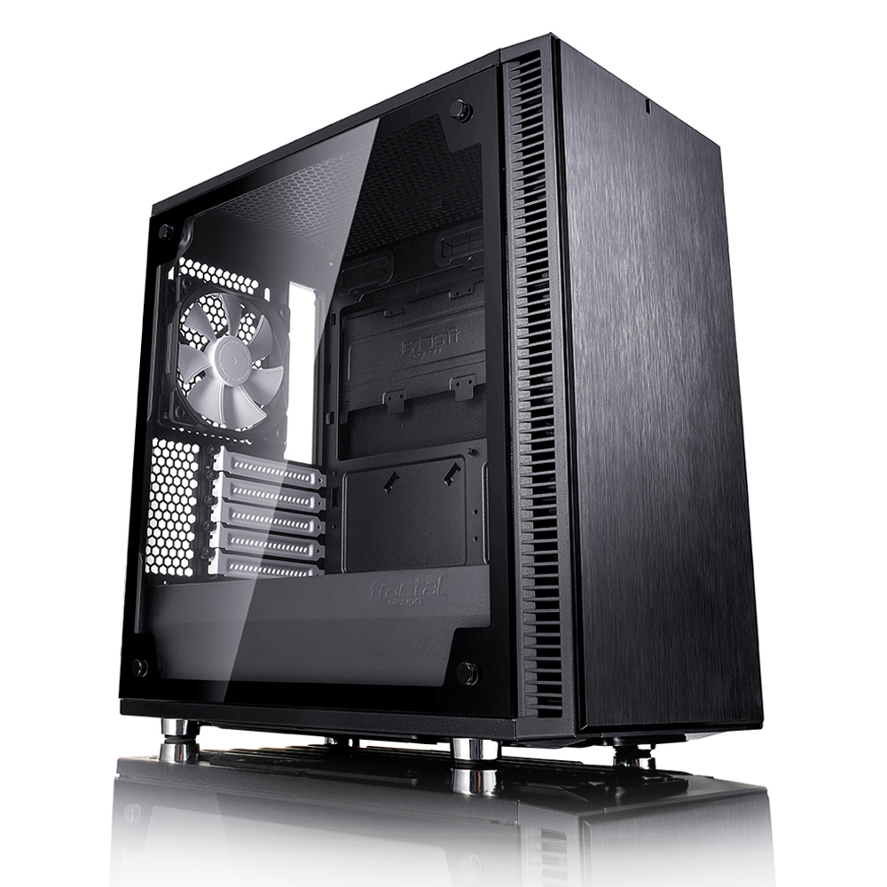 Carcasa PC Fractal Design Define Mini C Black Tempered Glass