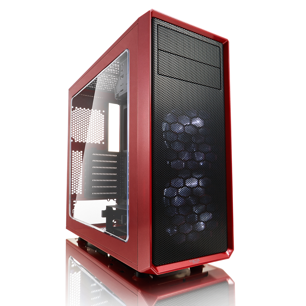 Carcasa PC Fractal Design Focus G Red Window