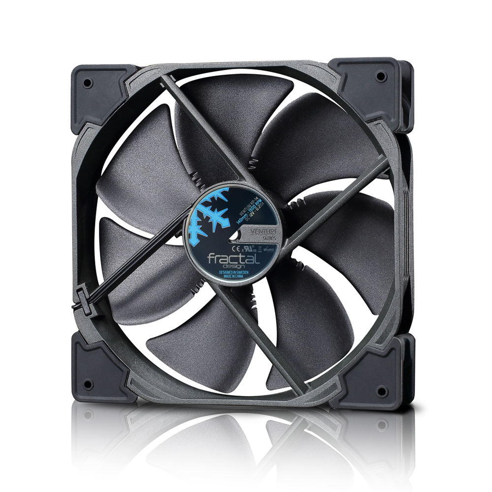 Ventilator Fractal Design Venturi HP-14 PWM Black