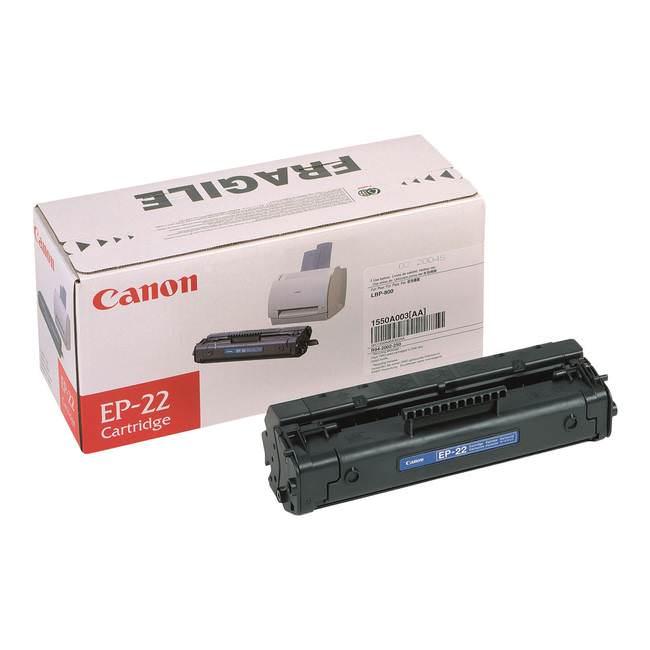 Cartus Toner Canon EP-22 Black 2.500 pagini