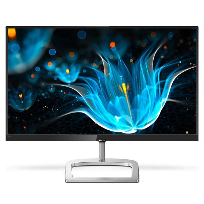 Monitor LED Philips 276E9QJAB 27 5ms Full HD Negru/Argintiu