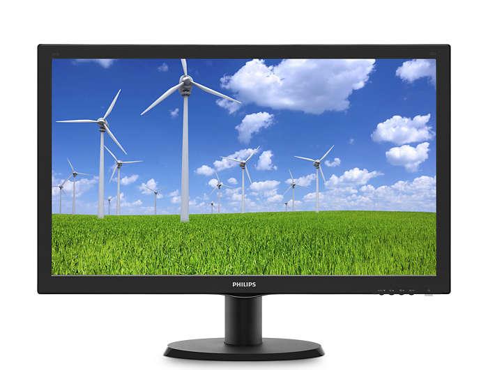 Monitor LED Philips 243S5LDAB 24 1ms Full HD Negru