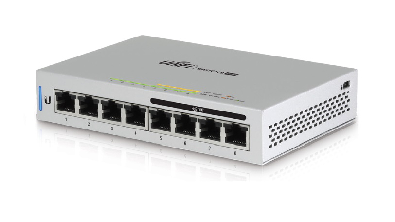 Switch Ubiquiti US-8-60W cu management cu PoE 8x1000Mbps-RJ45 5-pack