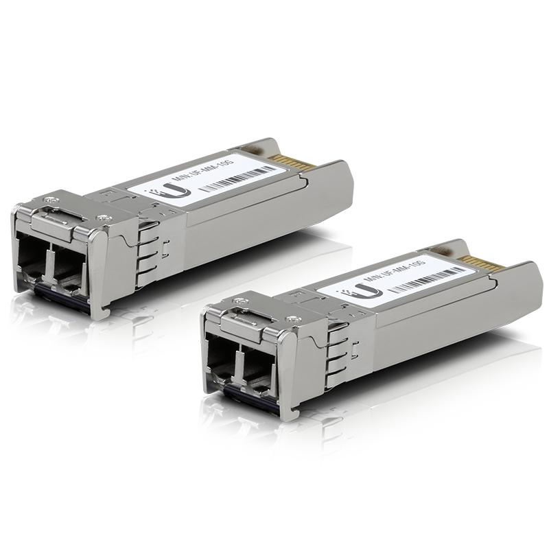 Modul SFP+ Ubiquiti UF-MM-10G 10Gbps 2xLC (Multi-Mode) 850nm 300m 2 Pack