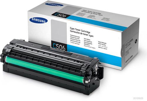 Cartus Toner Samsung CLT-C506L Cyan 3.500 pagini