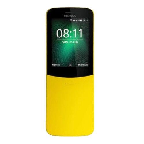 Telefon Mobil Nokia 8110 4G Dual SIM Yellow