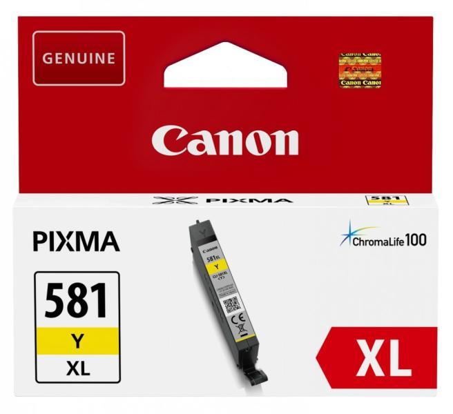 Cartus Inkjet Canon CLI-581Y XL Yellow 514 pagini
