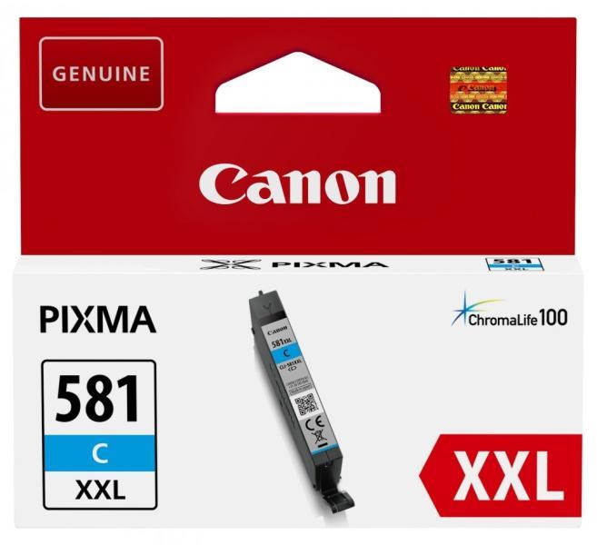Cartus Inkjet Canon CLI-581C XXL Cyan 820 pagini