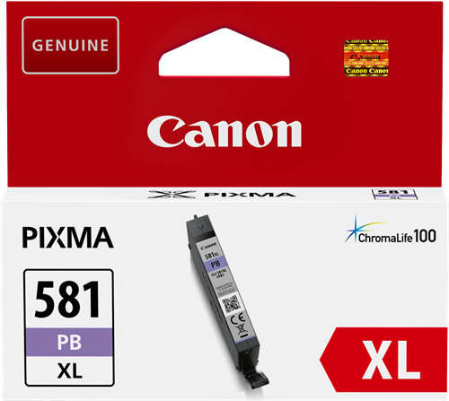 Cartus Inkjet Canon CLI-581PB XL Photo Blue 4710 pagini