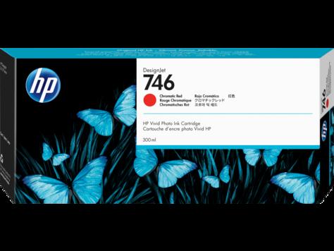 Cartus InkJet HP DesignJet 746 300ml Chromatic Red