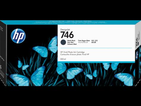 Cartus InkJet HP DesignJet 746 300ml Matte Black