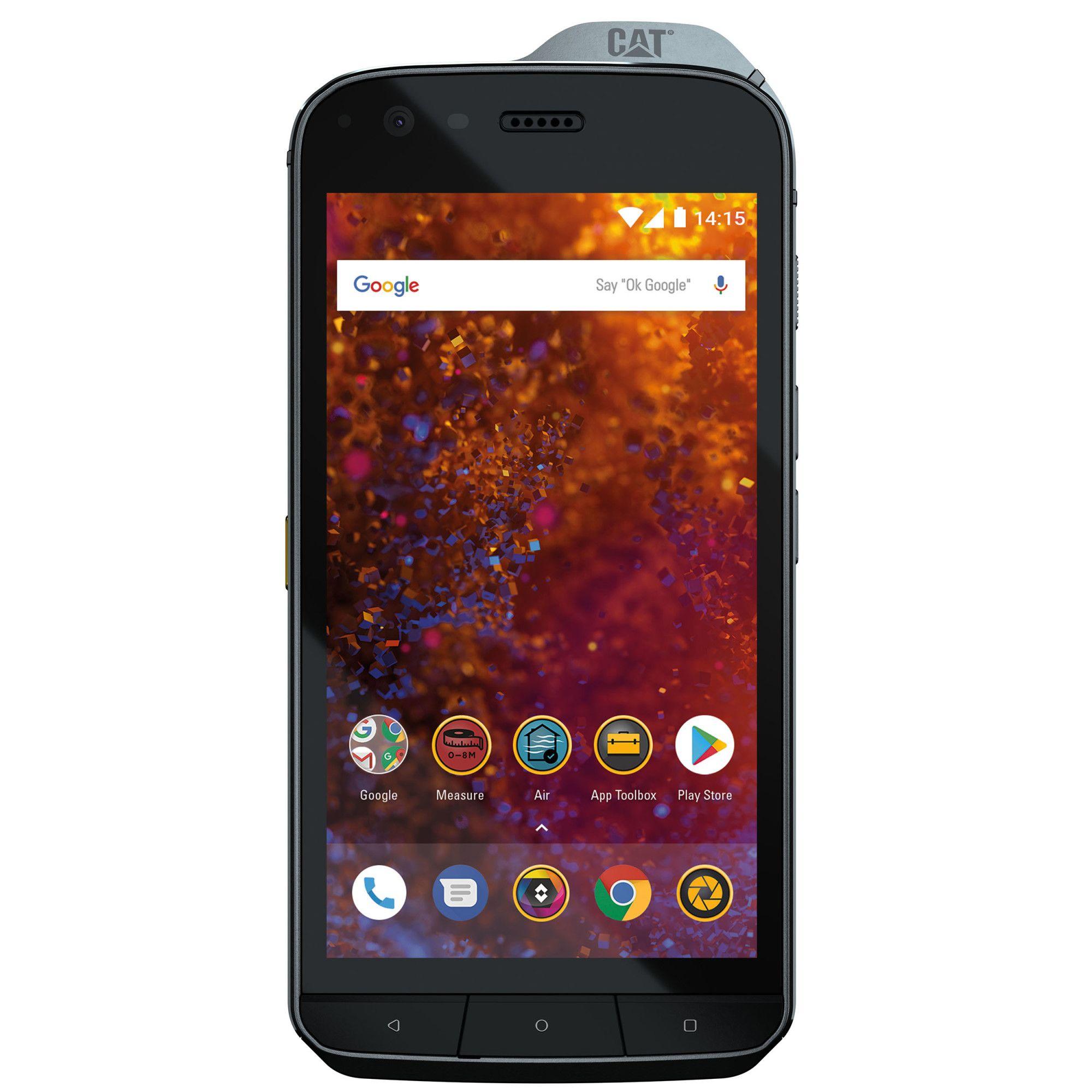 Telefon Mobil Caterpillar CAT S61 64GB Dual SIM 4G Black