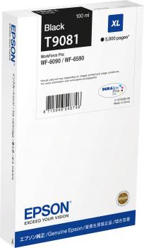 Cartus InkJet Epson T9081 XL Black 5000 pagini