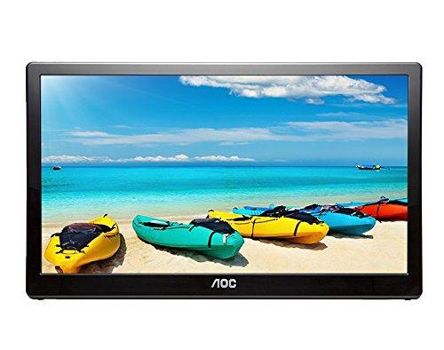 Monitor LED AOC I1659FWUX 15.6 Full HD 5ms USB 3.0 Negru
