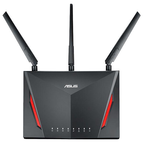 Router ASUS RT-AC86U WAN: 1xGigabit WiFi: 802.11ac-2900Mbps
