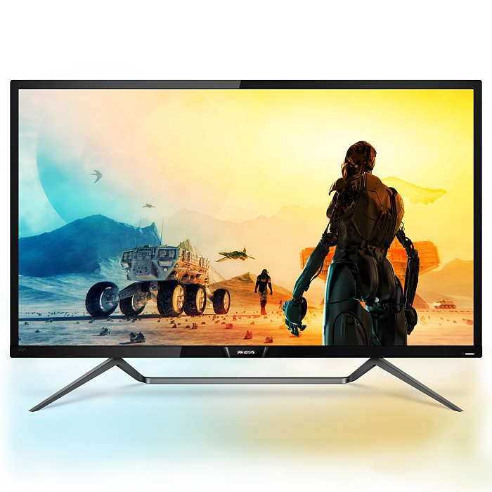 Monitor LED Philips 436M6VBPAB/00 43 Ultra HD 4K 4ms Negru