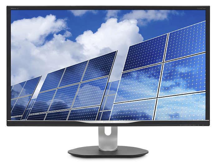 Monitor LED Philips 328B6QJEB 32'' WQHD 5ms Negru