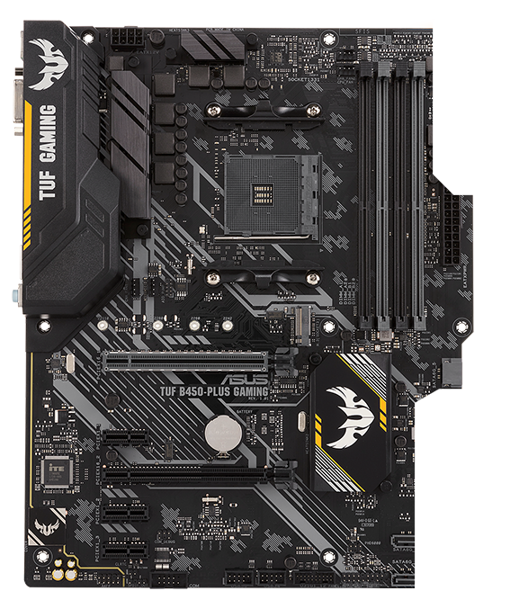 Placa de baza ASUS TUF B450-PLUS GAMING Socket AM4