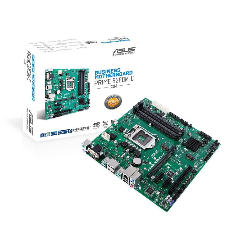 Placa de baza ASUS PRIME B360M-C/CSM Socket 1151