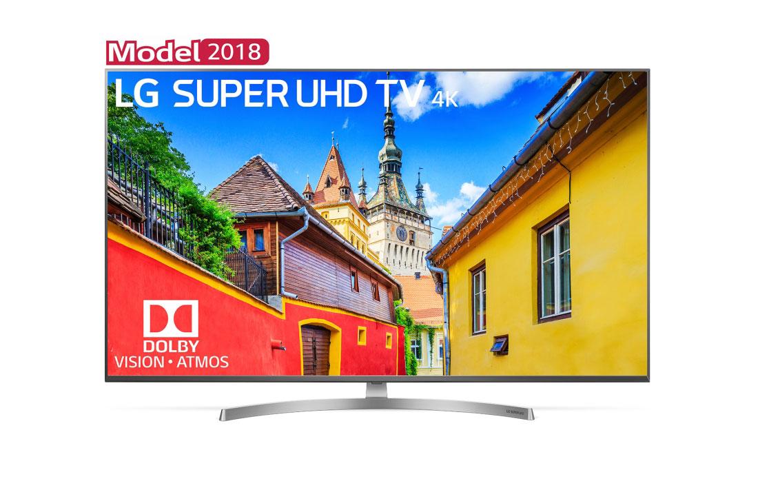 Televizor LED LG Smart TV 75SK8100PLA 190cm Super UHD 4K Argintiu
