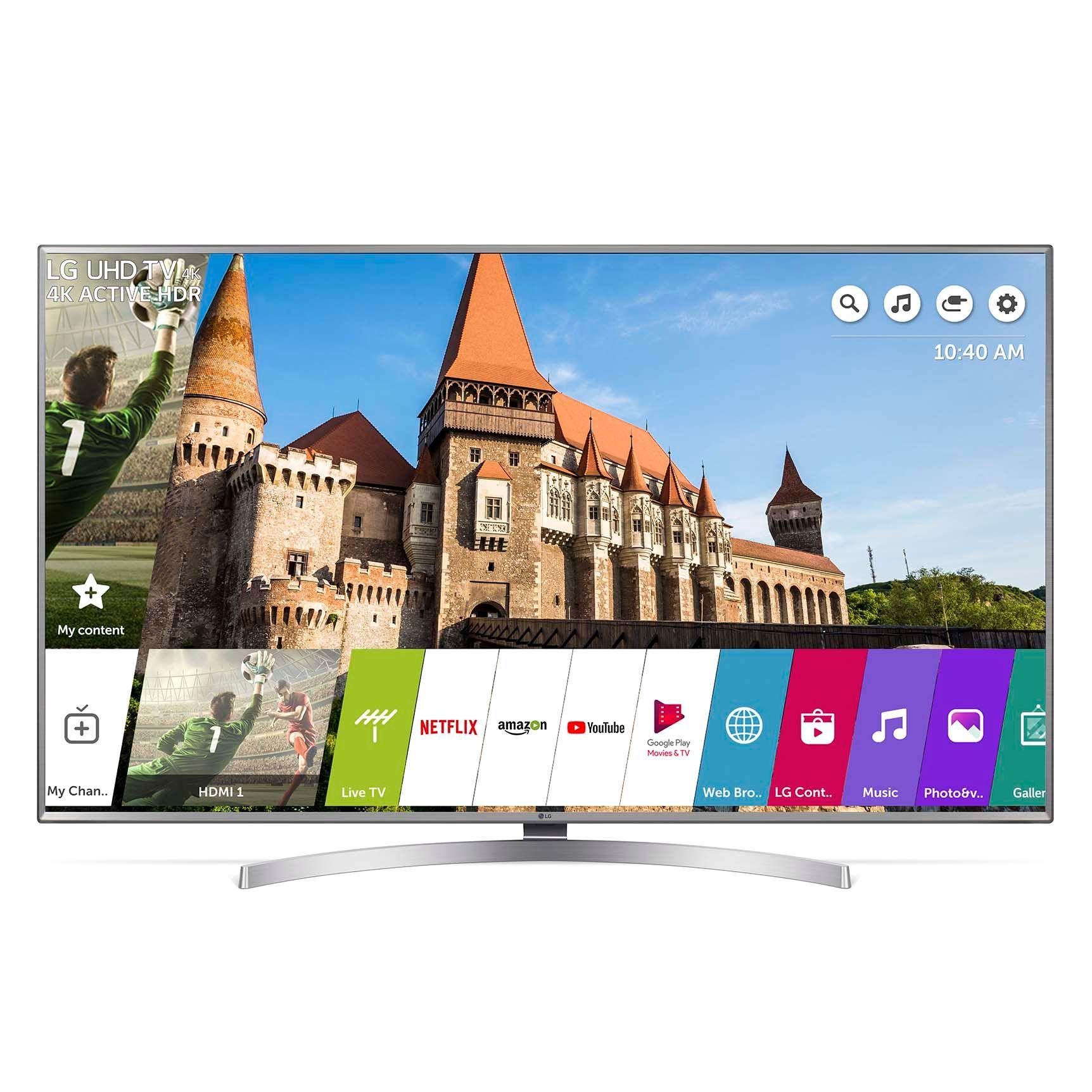 Televizor LED LG Smart TV 70UK6950PLA 177cm 4K Ultra HD Argintiu