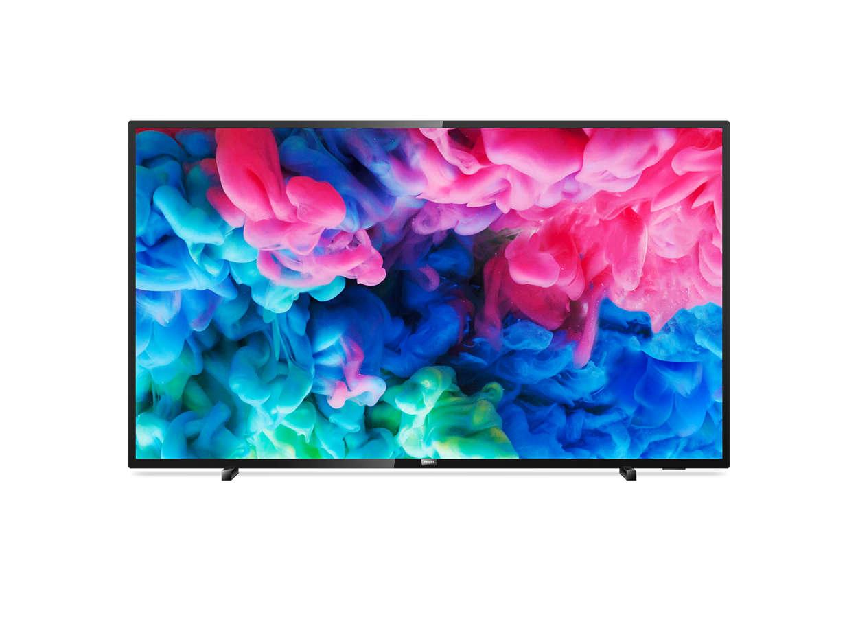 Televizor LED Philips Smart TV 50PUS6503/12 126cm 4K Ultra HD Negru