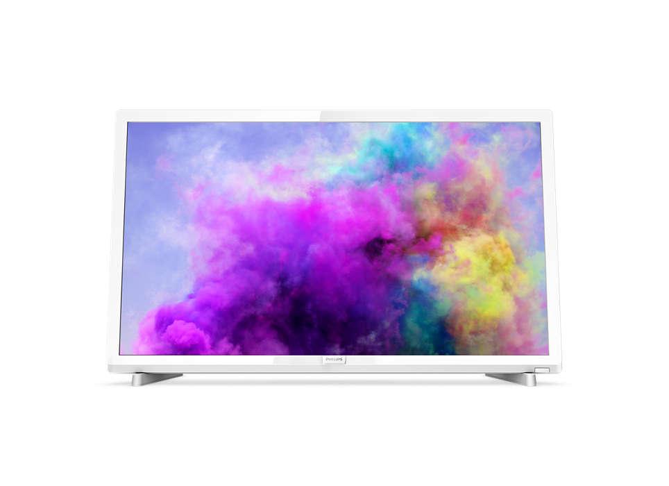 Televizor LED Philips 32PFS5603/12 80cm Full HD Alb