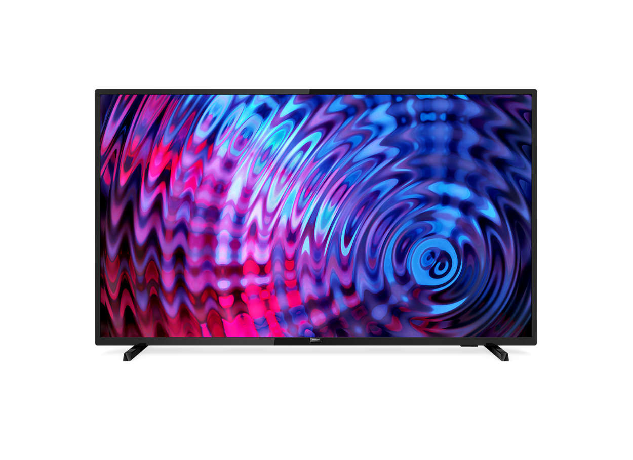 Televizor LED Philips Smart TV 32PFS5803/12 80cm Full HD Negru