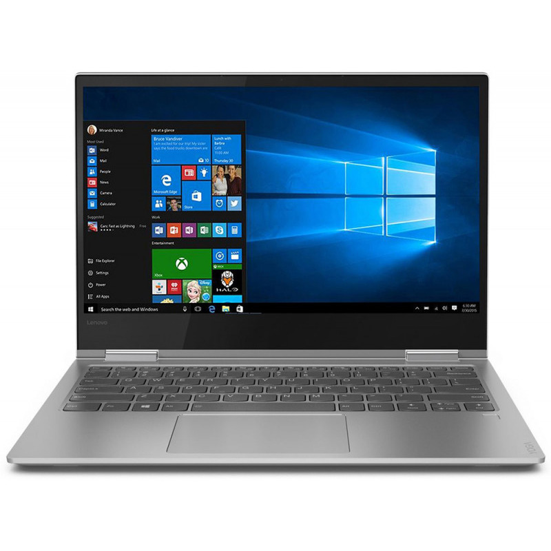 Ultrabook Lenovo Yoga 730 13.3 4K Ultra HD Touch Intel Core i7-8550U RAM 8GB SSD 512GB Windows 10 Home Argintiu