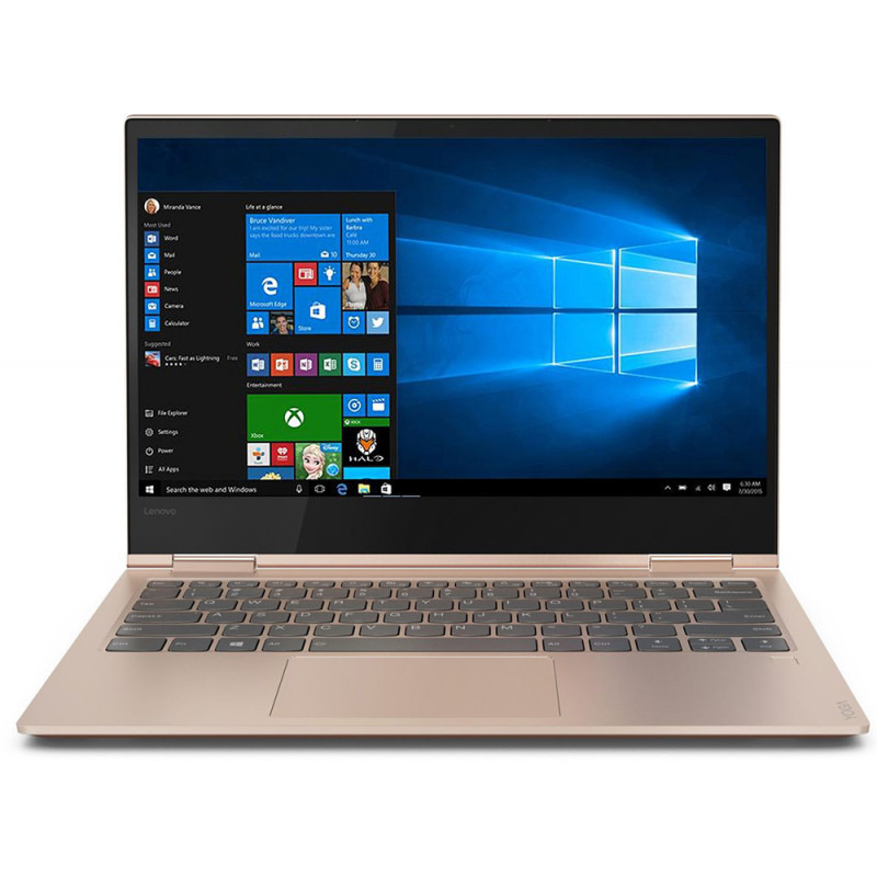 Ultrabook Lenovo Yoga 730 13.3 4K Ultra HD Touch Intel Core i7-8550U RAM 16GB SSD 512GB Windows 10 Home Copper