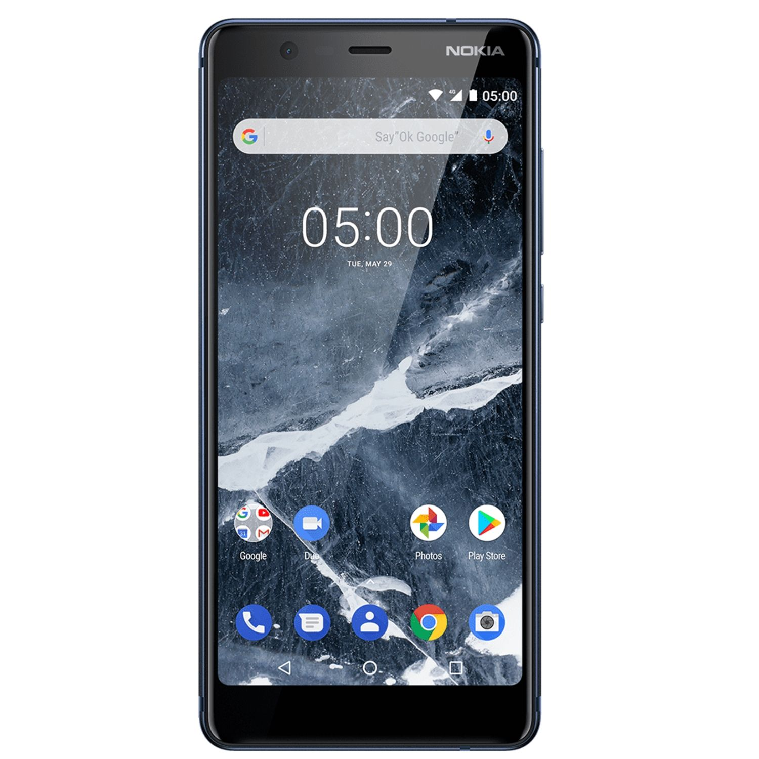 Telefon Mobil Nokia 5.1 (2018) 16GB Flash 2GB RAM Dual SIM 4G Blue