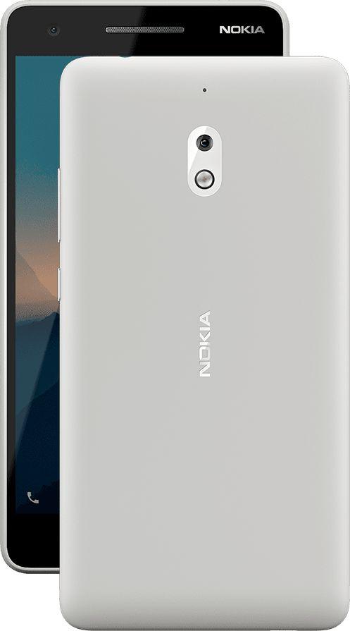 Telefon Mobil Nokia 2.1 (2018) 8GB Flash 1GB RAM Dual SIM 4G Grey Silver