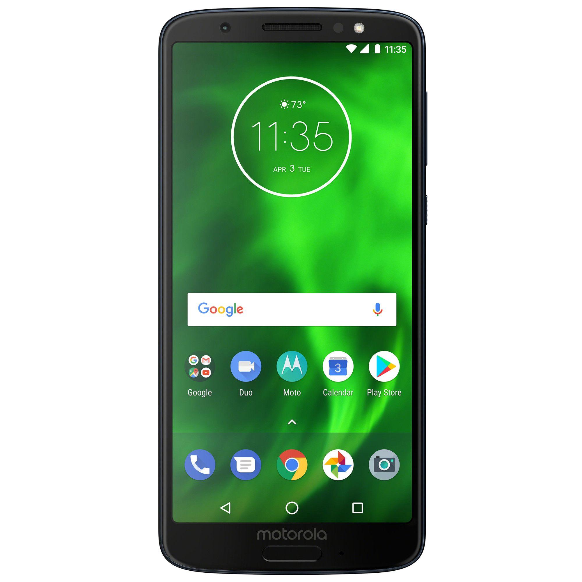 Telefon Mobil Motorola Moto G6 32GB Flash 3GB RAM Dual SIM 4G Deep Indigo