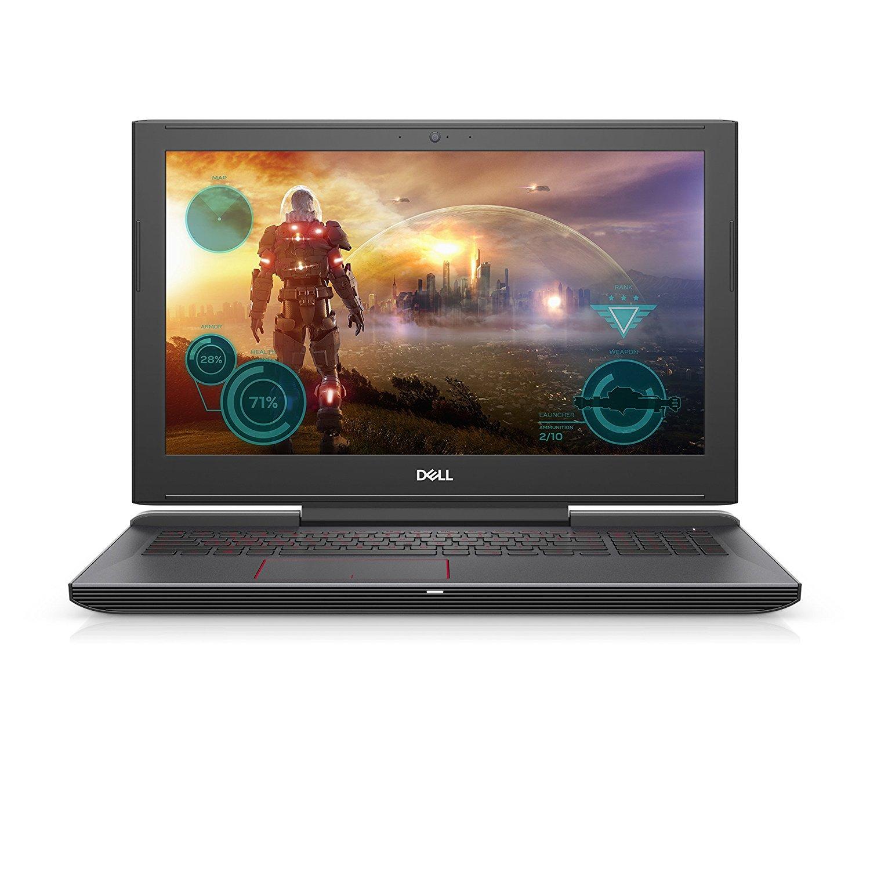 Notebook Dell G5 5587 15.6 Full HD Intel Core i7-8750H GTX 1050 Ti-4GB RAM 8GB HDD 1TB + SSD 128GB Linux Negru