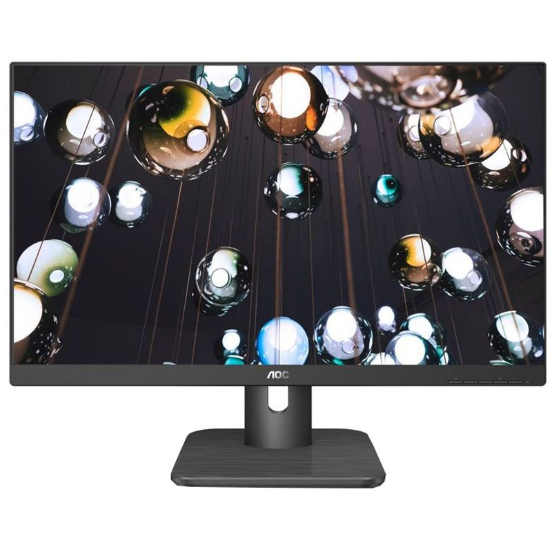 Monitor LED AOC 22E1Q 21.5'' Full HD 5ms Negru