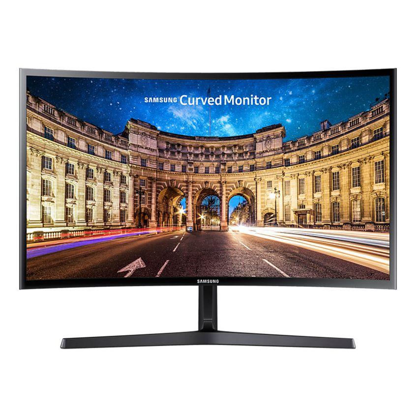 Monitor LED Samsung LC24F396FHUXEN 23.5 Curbat Full HD 4ms Negru