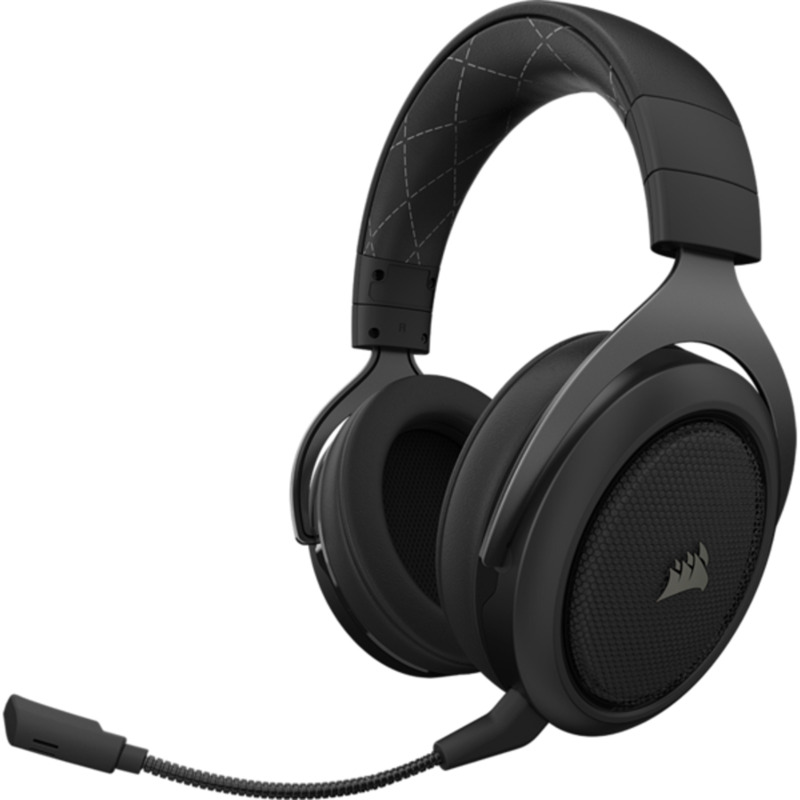 Casti Gaming Corsair HS70 WIRELESS Carbon