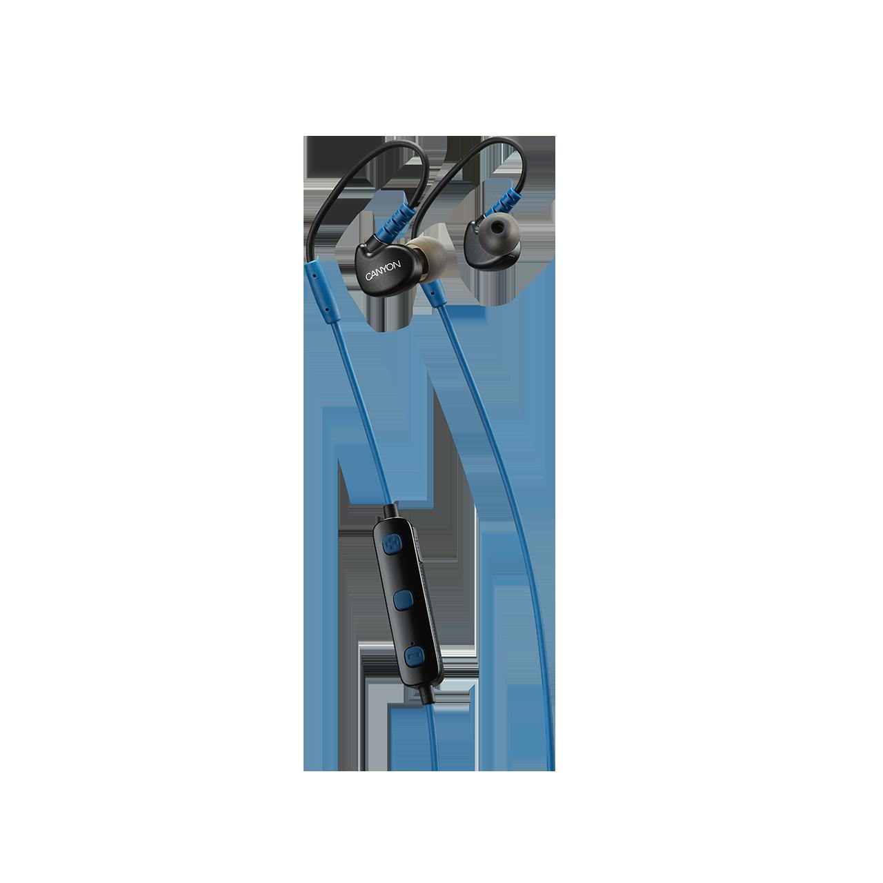 Casti InEar Wireless Canyon CNS-SBTHS1BL Blue