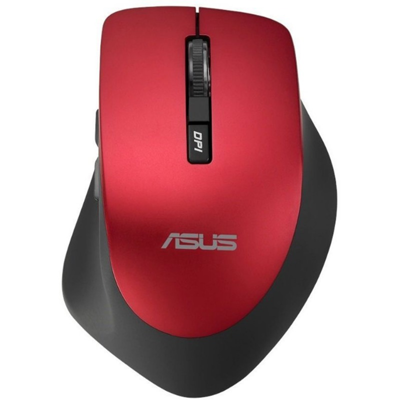Mouse Asus Mouse WT425 Wireless RED