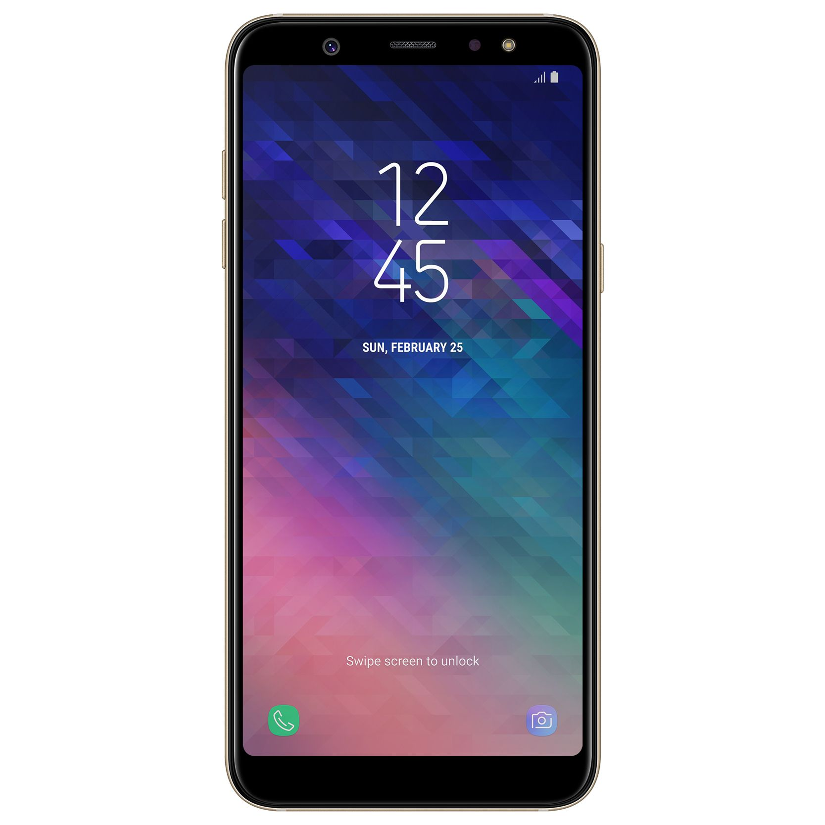 Telefon Mobil Samsung Galaxy A6 Plus (2018) 32GB Flash 3GB RAM Dual SIM 4G Gold
