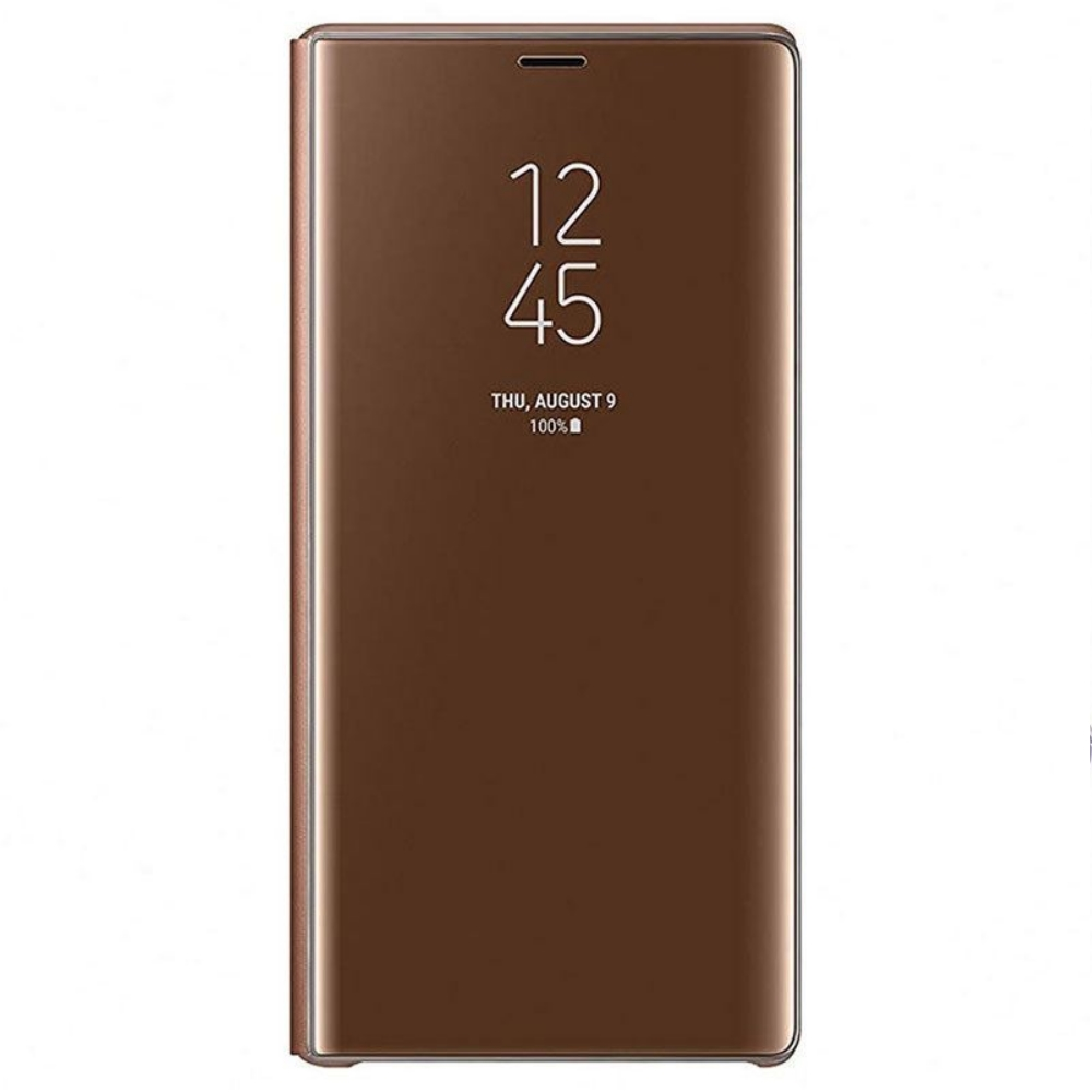 Husa Clear View Standing Samsung EF-ZN960 pentru Galaxy Note 9 (N960) Maro