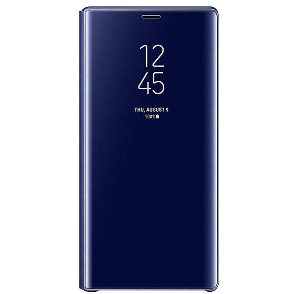 Husa Clear View Standing Samsung EF-ZN960 pentru Galaxy Note 9 (N960) Albastru