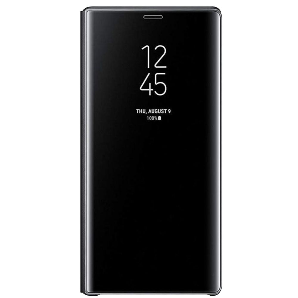 Husa Clear View Standing Samsung EF-ZN960 pentru Galaxy Note 9 (N960) Negru