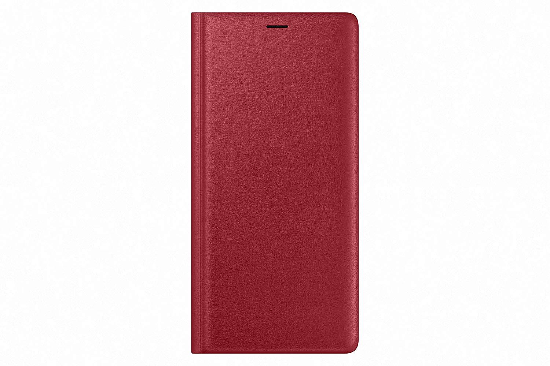 Husa Leather Wallet Cover Samsung EF-WN960 pentru Galaxy Note 9 (N960) Rosu