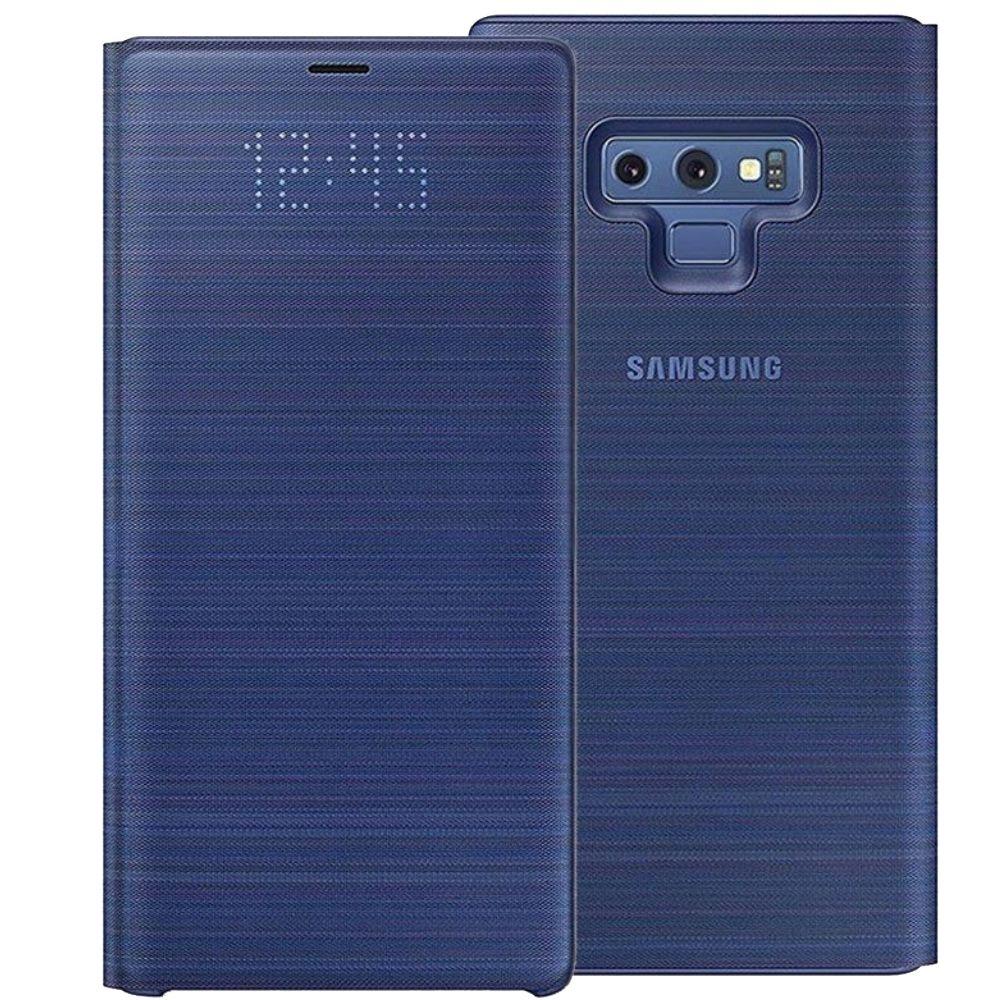 Husa LED View Cover Samsung EF-NN960 pentru Galaxy Note 9 (N960) Albastru