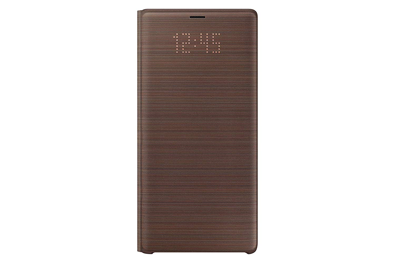 Husa LED View Cover Samsung EF-NN960 pentru Galaxy Note 9 (N960) Maro