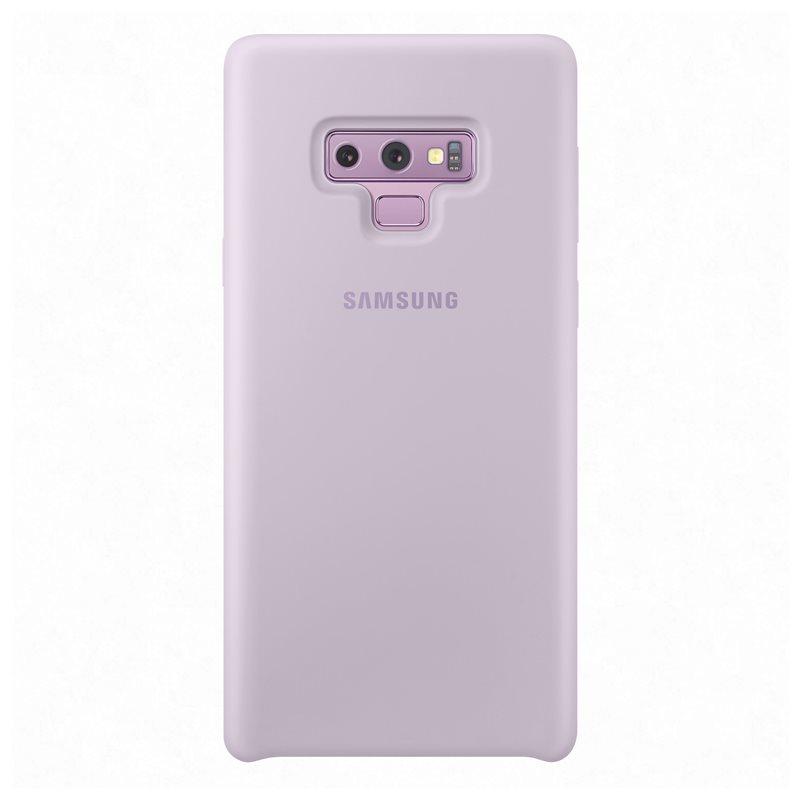 Capac protectie Silicone Cover Samsung EF-PN960 pentru Galaxy Note 9 (N960) Mov